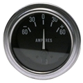 Stewart Warner 82311 Deluxe Ammeter Gauge, 2-1/16 Inch, 60-0-60 Amps