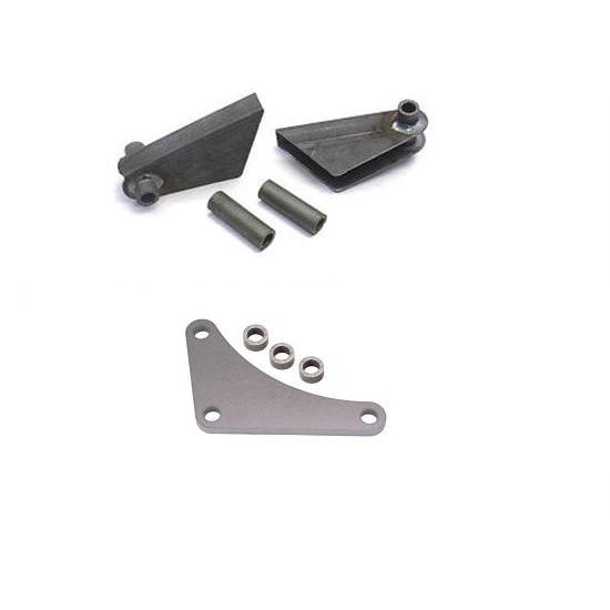 Vega Box Mount and Front Radius Rod Brackets for Bare Model T Frames