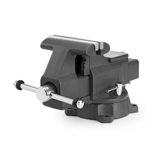 Titan tools 22016 heavy duty bench vise 6 1 2 inch free shipping speedway motors 6 inch bench vise