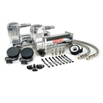 Viair 44432 Dual Air Compressor Kit, 444C, Chrome
