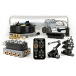 AccuAir AA-AMP2-TPAD-EN-5C E-Level Stage 2 Air Susp. Management Kit
