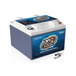XS Power D925 12 Volt Deep Cycle AGM Battery, 6.5 x 7 x 5 Inch