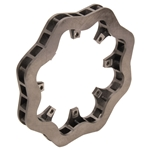 Speedway Cast Iron Scalloped Brake Rotor - 11.75 x 1.25 Inch