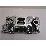Garage Sale - Edelbrock RPM Air-Gap Small Block Chevy Intake, Endurashine