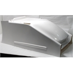 Garage Sale - Schnee Chassis Sprint Racing Fiberglass Hood with Brackets, White