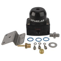 Fuelab 51506-1-L-L Carbureted Fuel Pressure Regulator, 1-3 PSI