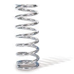 AFCO 27400-1CR 7 Inch Extreme Chrome Coil-Over Spring, 400 Rate
