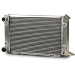 AFCO 80105NZ Scirocco-Style Dual Pass Radiator L In/Outlet 1.5/1.75 OD