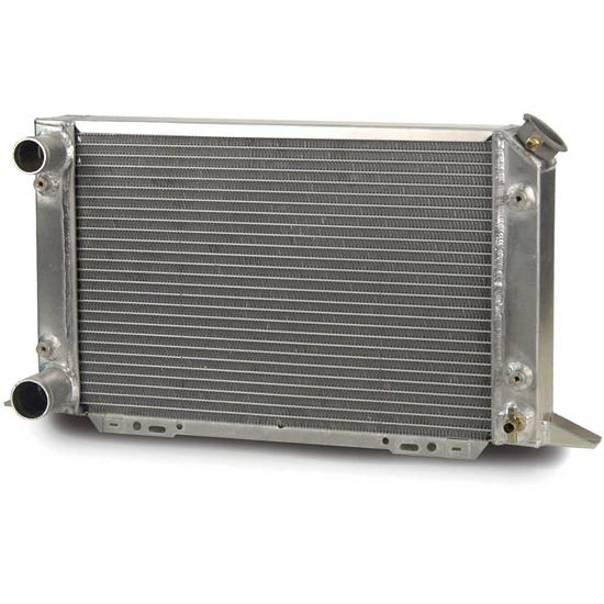 afco 80105n scirocco style dual pass radiator lh in outlet