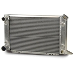 AFCO 80105N Scirocco-Style Dual Pass Radiator LH In/Outlet 1.5/1.75 OD