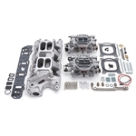 Edelbrock 2035 RPM Air-Gap Dual-Quad Intake Manifold/Carburetor Kit
