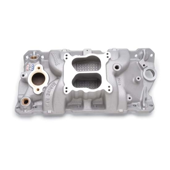 Edelbrock 2504 Performer RPM Marine Intake Manifold,Small