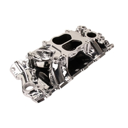 Edelbrock Performer Air-Gap Intake Manifold, Small Block V8, Endurashine