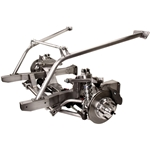 G-Comp 1962-65 Chevy II Nova Bolt On Performance Front End Axle Subframe