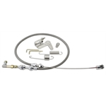 Lokar DP-1000HT48 Duo-Pak Universal Stainless Throttle Cable w/Bracket