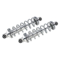 Alum. Small Body Coilover Shock, 6 In. Polished, Spring Rate 12 Inch-125 lbs