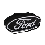 Garage Sale - GOBOXES F2000 BLK/S Ford Zippered Canvas Go Bag, Black