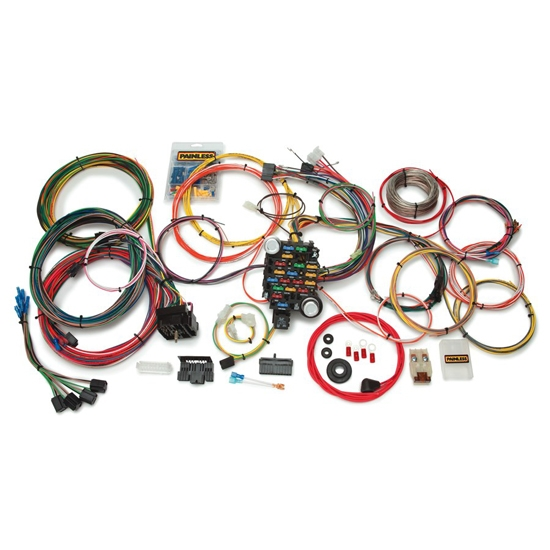 painless wiring 10205 27 circuit classic-plus wiring ... painless wiring harness chevy #10