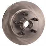 1979-Up GM Metric Brake Rotor, 5 on 4-3/4 Inch, 5/8-11 Inch Coarse Studs
