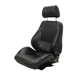 Scat Procar Rally Series 1000 Bucket Seat-Passenger Side Black Vintage
