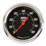 Omega Kustom 30235 8000 RPM Tach, 5 Inch, Black