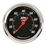 Omega Kustom 30235 8000 RPM Tach, 5 Inch, Black