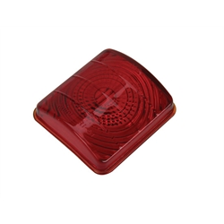 1951-52 Chevy Taillight Lens, Red Glass