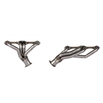 1967-1987 Small Block Chevy Shorty Headers, Manual Trans, Plain