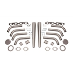 Big Block Chevy Lake Style Header Kit, 1-7/8 Tube, 3-1/2 Inch Cone