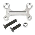 M&W BCB-325-2 Aluminum Front Caliper Bracket, 10-7/8 Inch Rotor