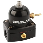 Fuelab 54501-1 Mini Fuel Pressure Regulator, 25-90 PSI