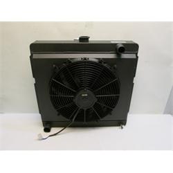 Garage Sale - AFCO Direct Fit 1960-78 Mopar A, B, E-Body Radiator, 22 X 22 Inch, Black