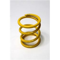 Garage Sale - AFCO Yellow 2-5/8 I.D. Coilover Spring, 4 Inch, 300 Rate