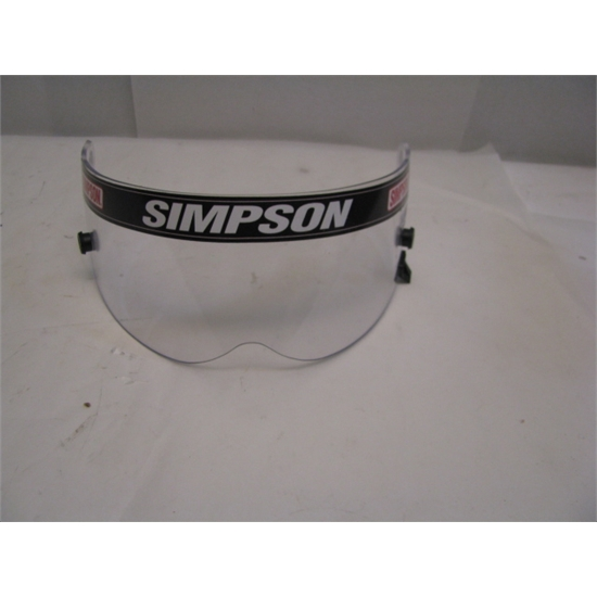 Garage Sale - Simpson Clear Shield For Speedway RX, Diamond Back & X-Bandit