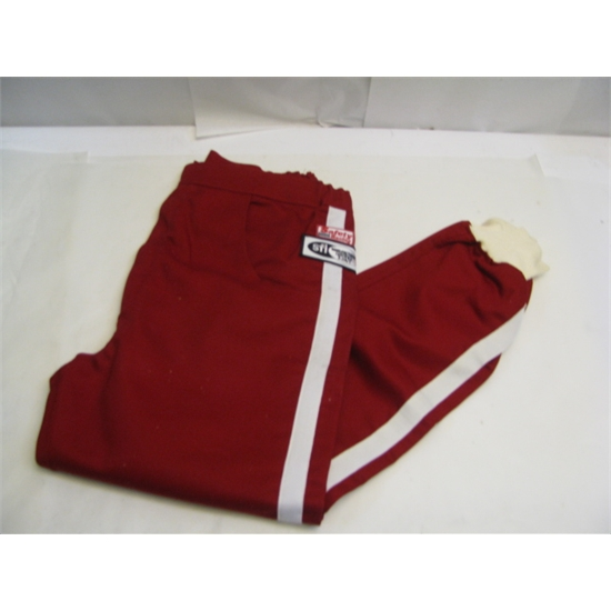 Garage Sale - Safety Racing Proban Driver Pants, Red, Size Large