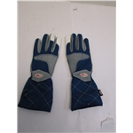 Garage Sale - Bell Apex II Racing Gloves, Blue, Size Large