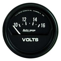 Garage Sale - Auto Meter 2319 Auto Gage Air-Core Voltmeter Gauge, 2-5/8 Inch