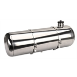 EMPI 3898 Pol Stainless Steel Fuel Tank, 10x33 In, End Fill, 10.5 Gal