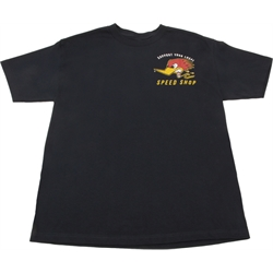 Clay Smith Cams Speed Shop Mr. Horsepower Navy T-Shirt