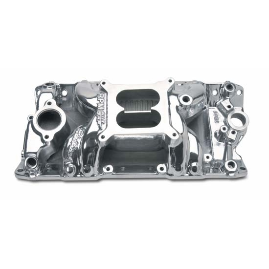 Edelbrock 75011 RPM Air Gap Intake Manifold, Small Block