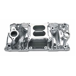Edelbrock 7501 performer rpm air gap small block chevy for Gap 75014