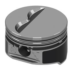 KB Claimer Chevy 383 Hypereutectic Pistons, Flat Top, 6.0 Rod