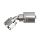 Aeroquip FBM4121 Starlite Crimp Fitting, 45 Degree, -4 AN