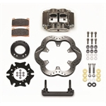 Wilwood 140-11810 Billet Narrow Dynalite Radial Mount Midget Inboard Brake Kit