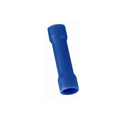 Blue Vinyl Butt Connectors, 16-14 Gauge