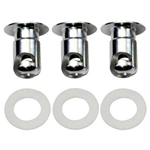 Replacement Quarter Turn Fasteners for Air Flow Wheel Cover