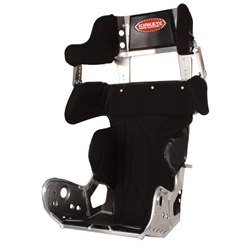 Kirkey 27 Series Micro/Mini Sprint Car Racing Seat, Black 12 In. Wide