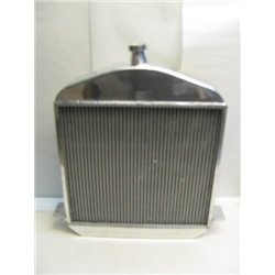 Garage Sale - 1917-23 T-Bucket Aluminum Polished Radiator