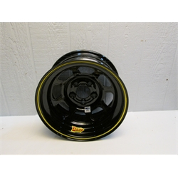 Garage Sale - Aero 52 Series IMCA Certified Race Wheel, 5 On 4-3/4, Black