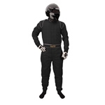 Garage Sale - Speedway 2 Layer Racing Suit, One Piece, Black, Size Small